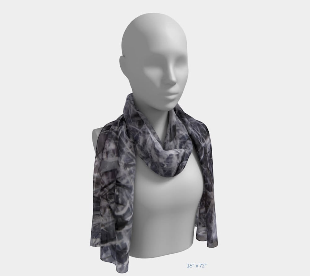 An Unordered Universe by Beth Shapiro 16x72 scarf