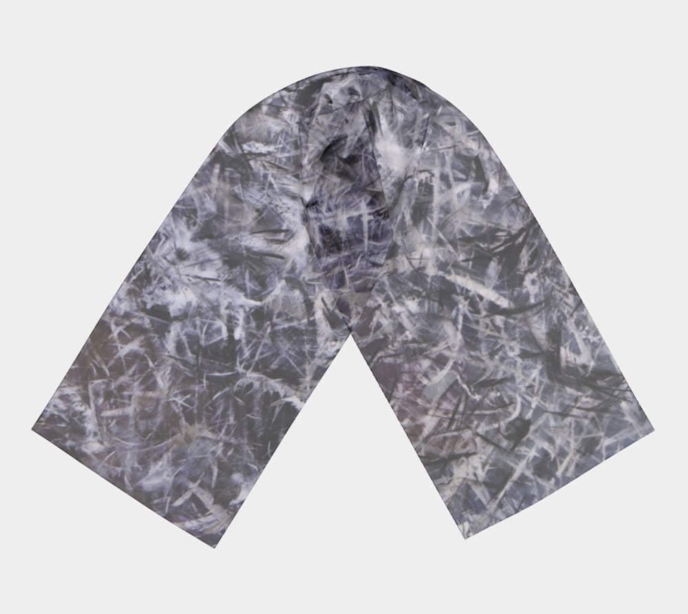 An Unordered Universe by Beth Shapiro Long scarf