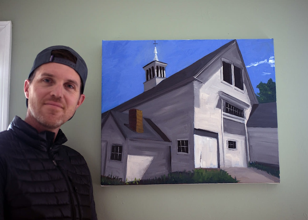 Paul with Summer Barn in Lincoln