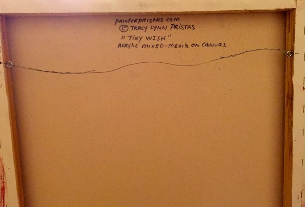 Tiny Wish Backside Of Canvas JPG