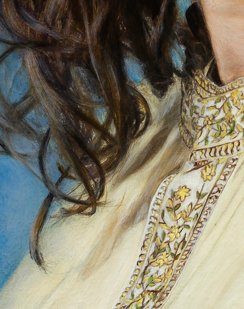 THE YELLOW KAFTAN DETAIL 2