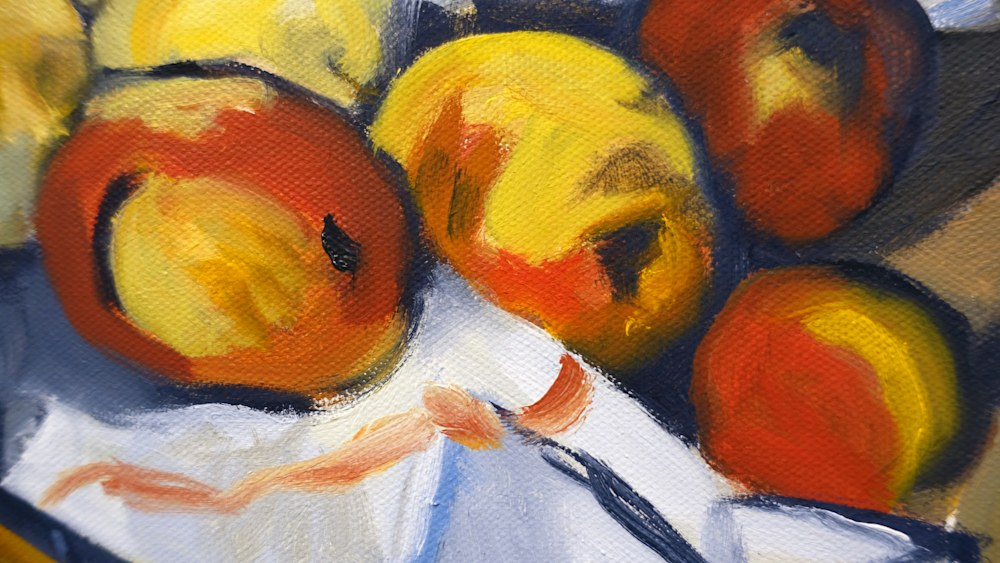 Still Life with the Fruits of the Revolution   detail3