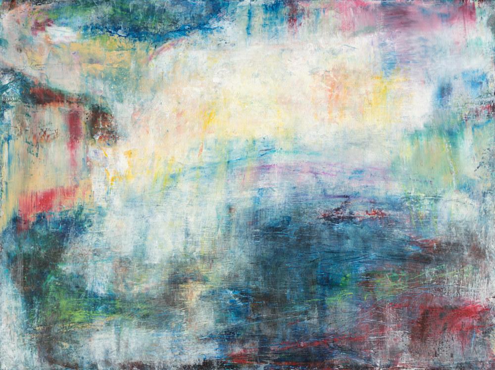 'Beneath Her Dream' Eadaoin Glynn 2019 60x80cm oil, oil bar, cold wax on gesso panel  HiRes