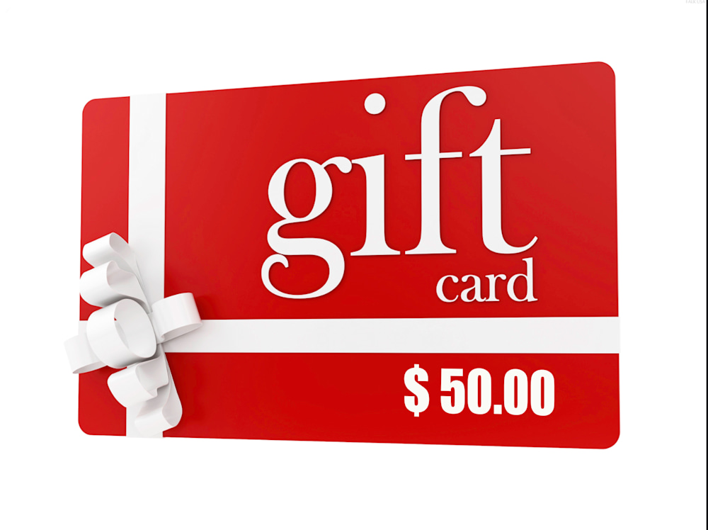 ASF 50,00 RedGiftCards Blank