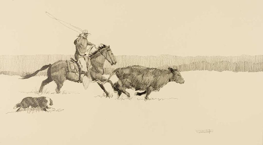 cowhand & his dog 8