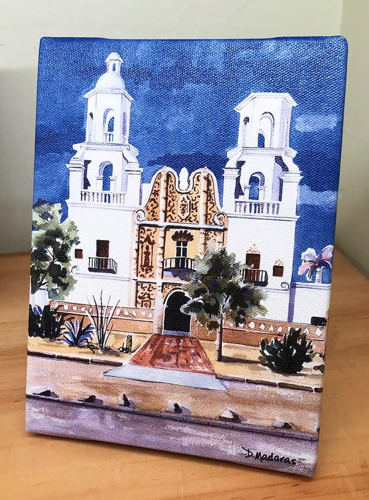 san xavier mission mini canvas