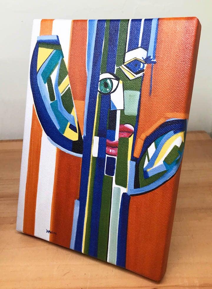 saguaro picasso front canvas
