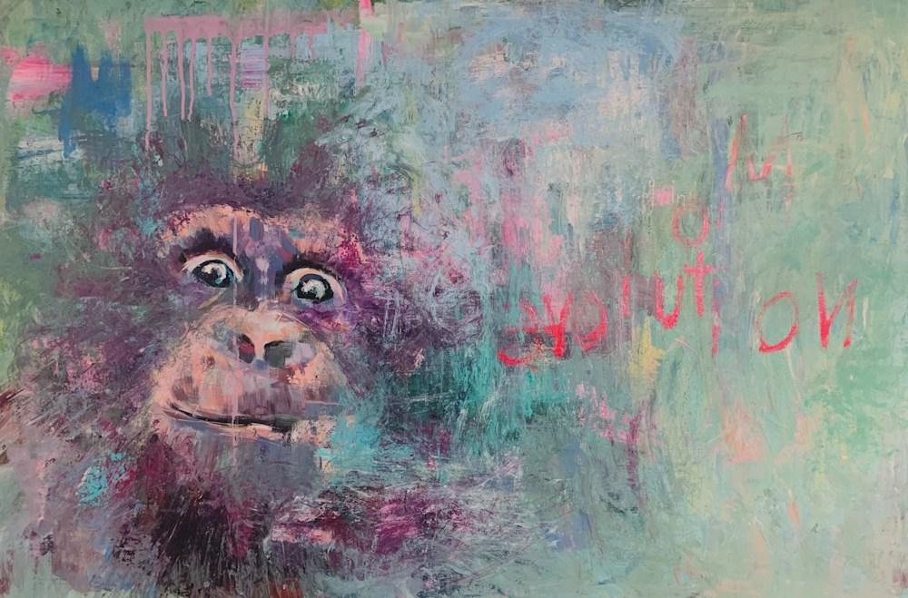 Evolution by Steph Fonteyn 120 x 80cm