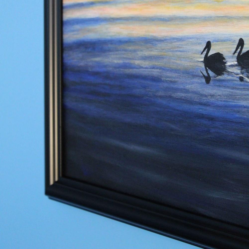 Pelicans Framed corner2
