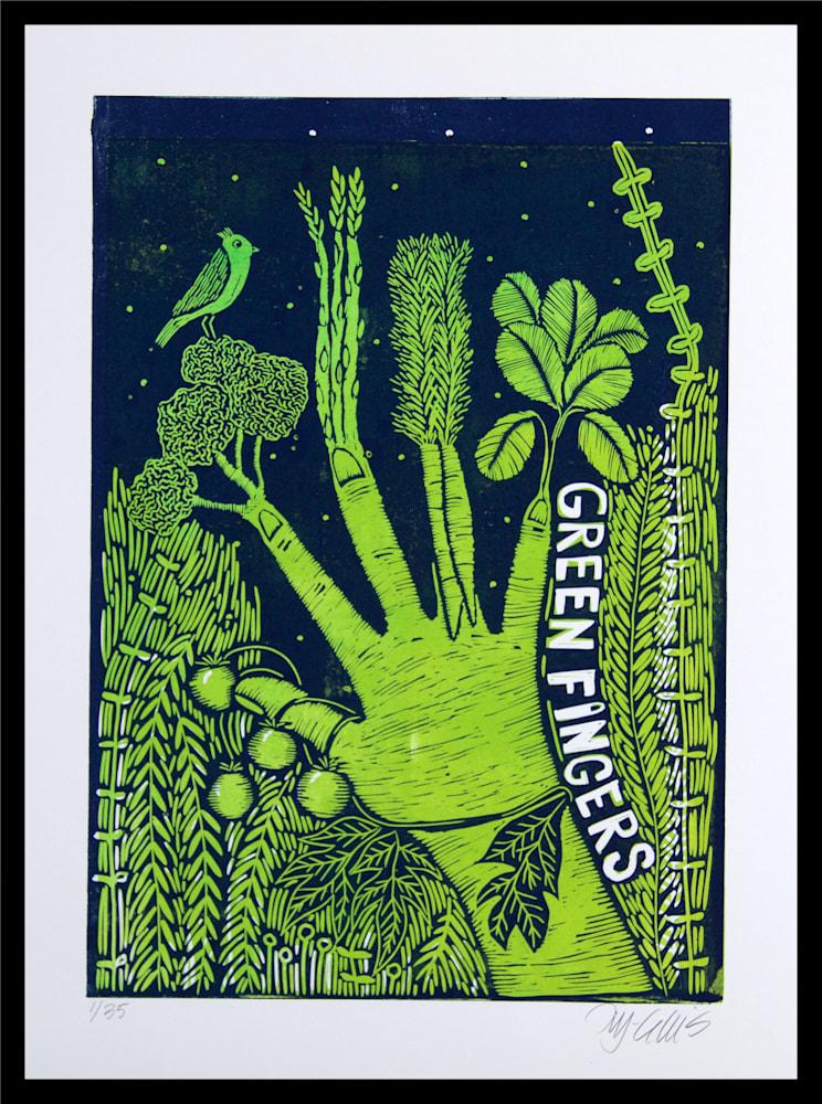 Green fingers framed