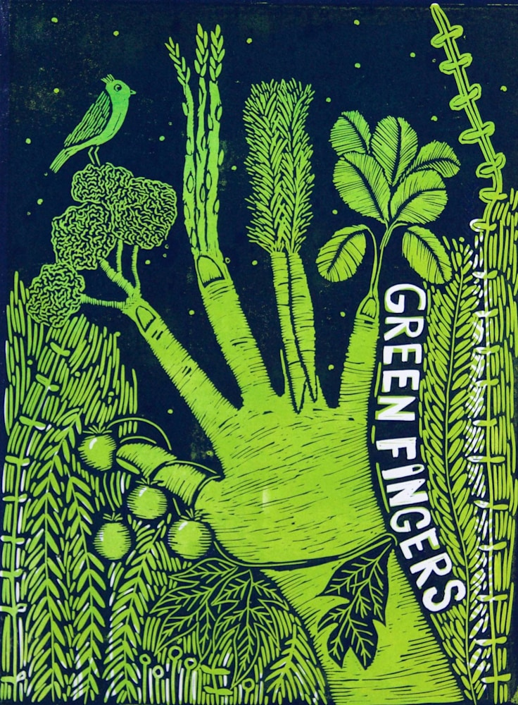 Green fingers image