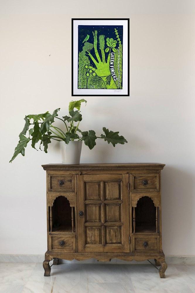 green fingers interior