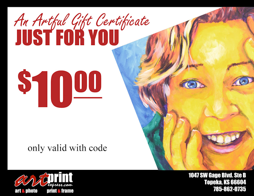 Gift Certificate 10 2017