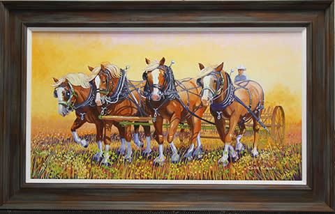 Four Strong framed