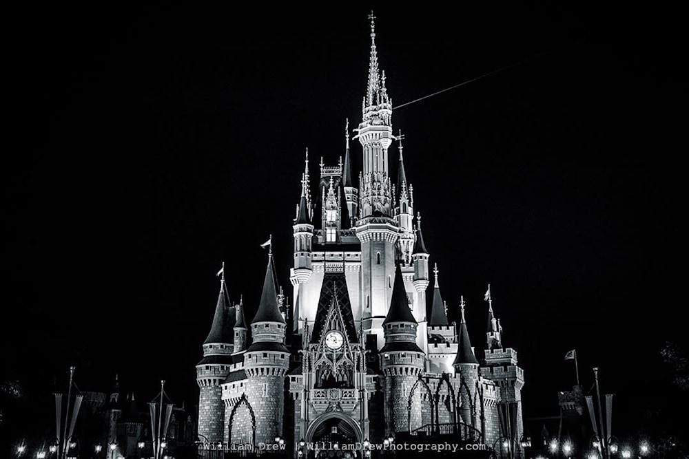 Cinderella Black and White sm