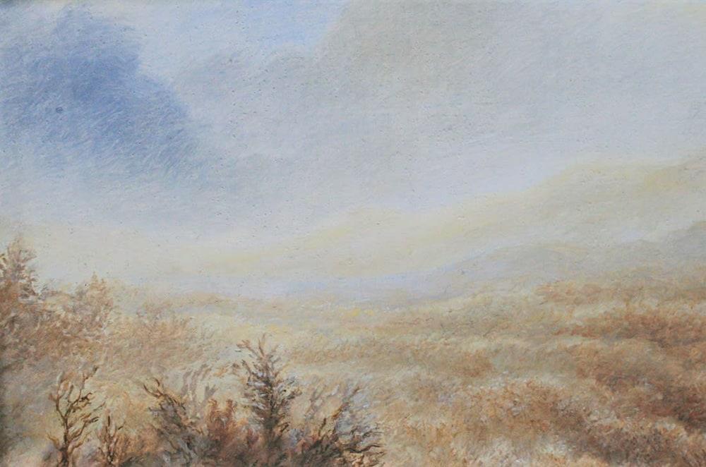 Blue Ridge Winter Scene detail 2
