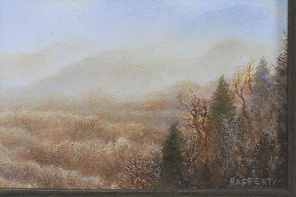 Blue Ridge Winter Scene detail 1