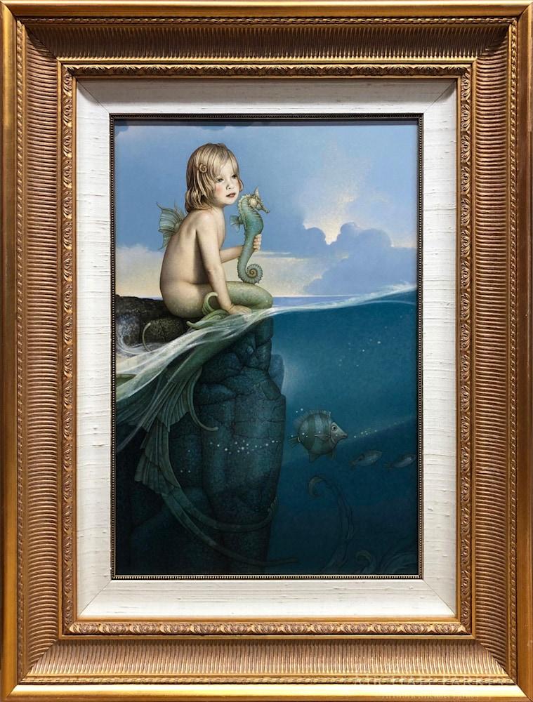 Michael Parkes   Baby Mermaid