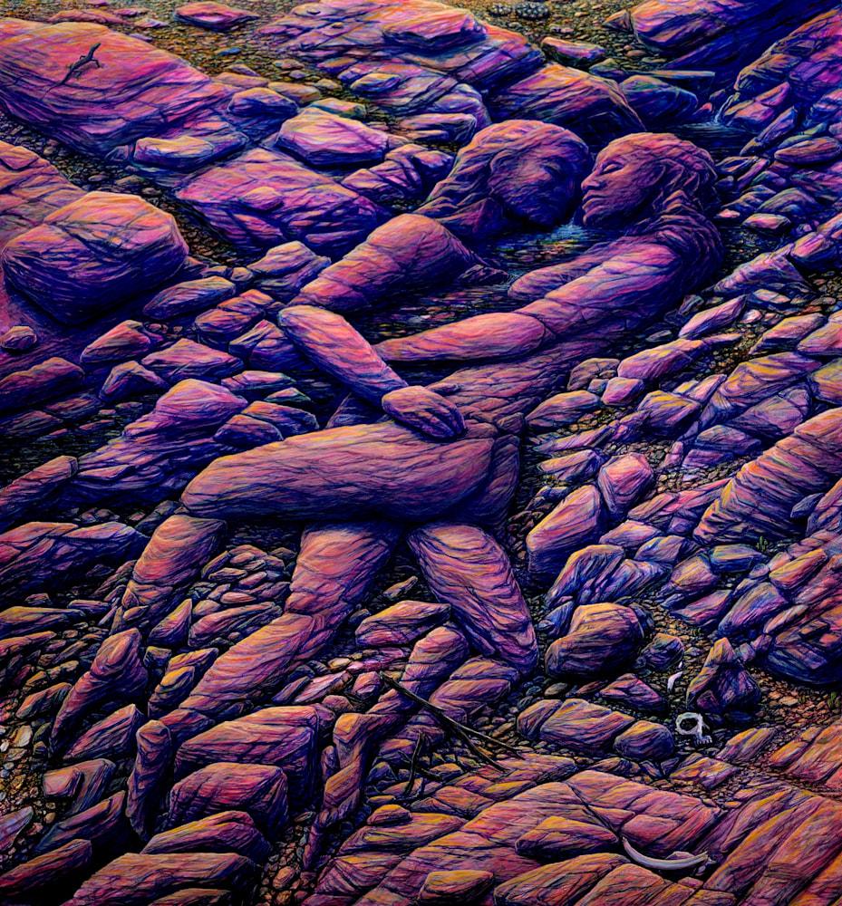 DESERT LIFE giclee