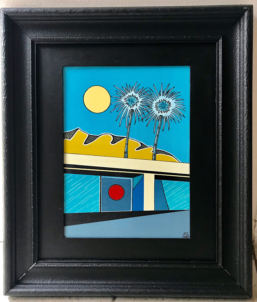 Arthur Pochon   Palm Springs (Painting)