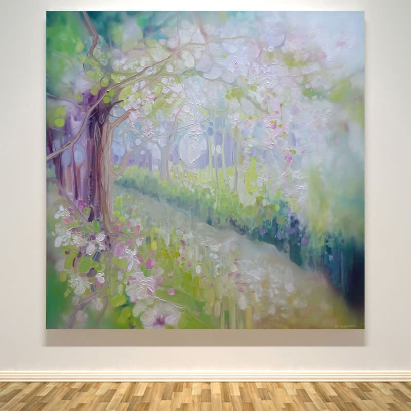 spring orchard wall art print S