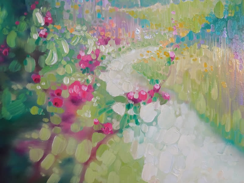 the chalk path in spring by gill bustamante d2 S