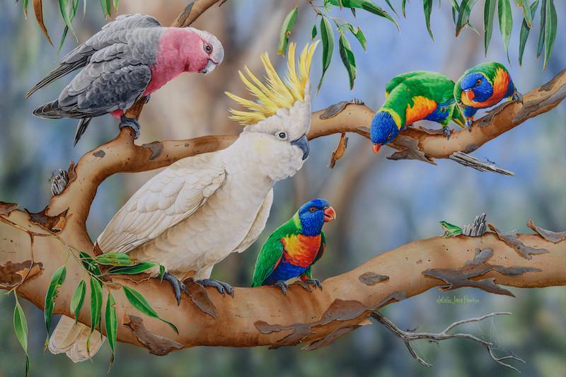 Colourful Crowd Natalie Jane Parker