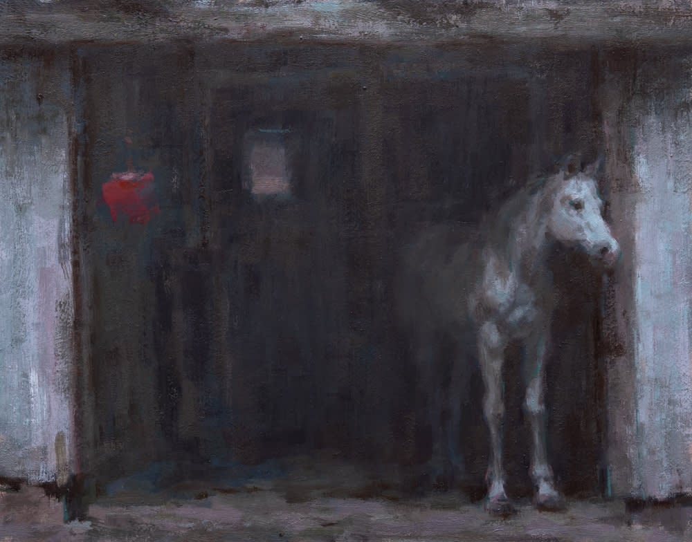 Coberly Horse Peeking Out 1000