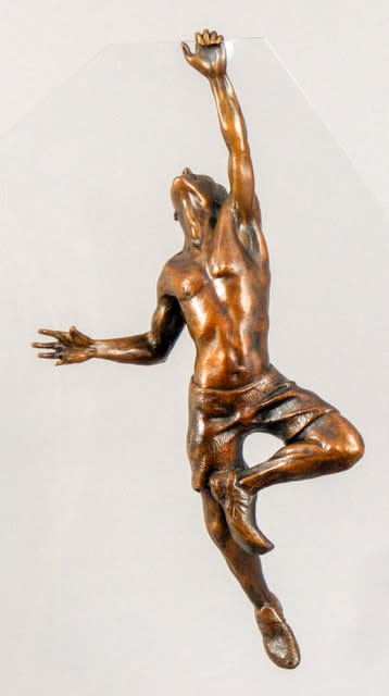 Lance Glasser   The Ascent   Evo Art Maui Front Street Lahaina Sculpture Climber Male Man Hawaii