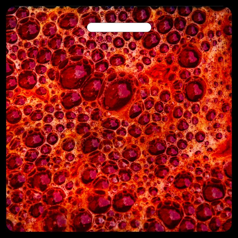 Bubblicious Red Bag Tag