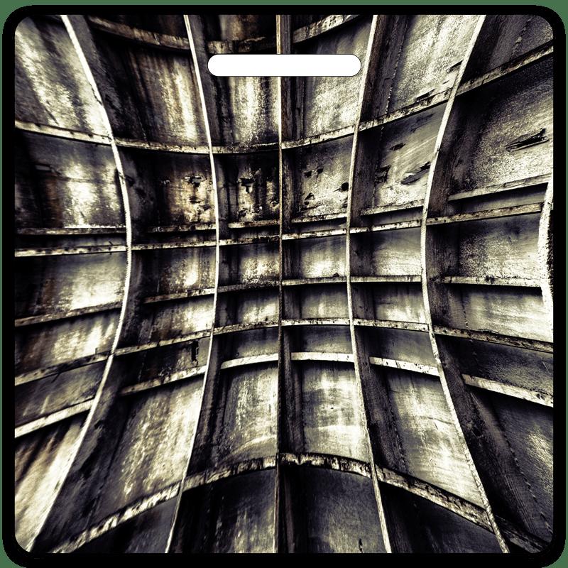 Wall Of Steel Bag Tag