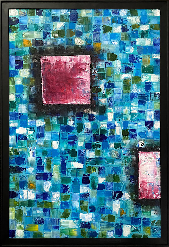 Mosaic Squared new (smaller framed)