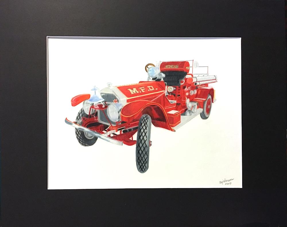 1920 fire engine