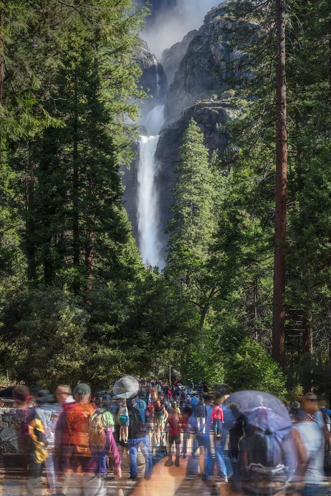 Human Nature Yosemite Falls