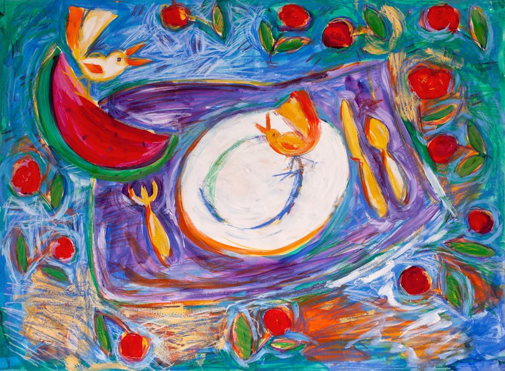 Picnic Paint Happy Cristina Acosta 2020