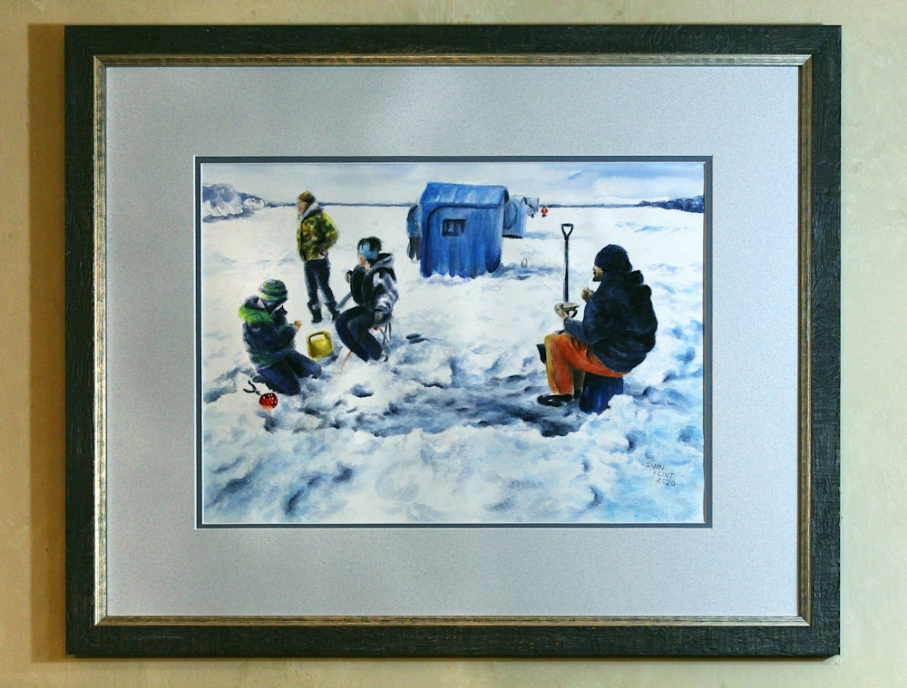 MN Ice Framed