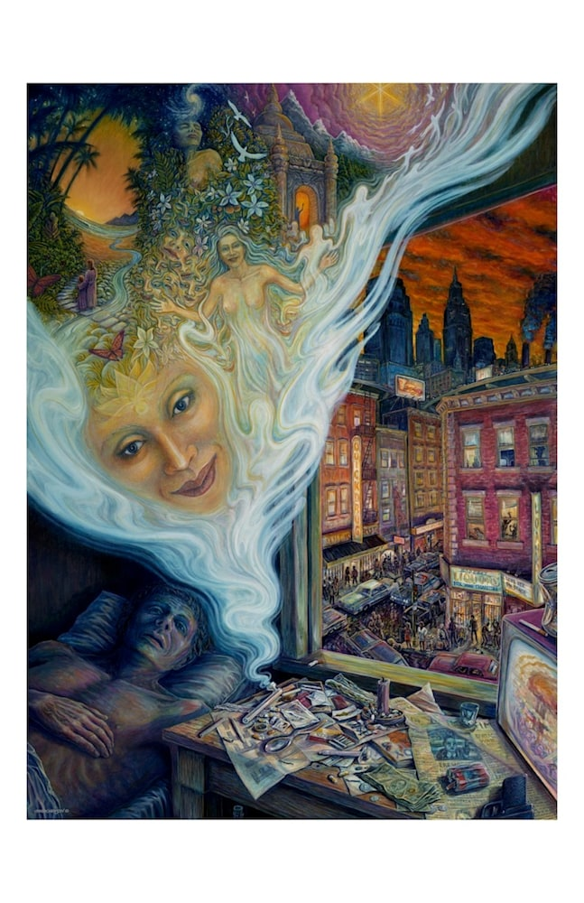 Illusion of Reality ecoprint