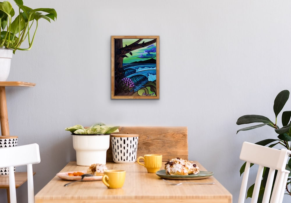 Shannon Oconnell Paintings Mock Ups Evo Art Maui Lahain Front Street Gallery Collect Popular Colorful Ocean Flowers Scenery Waves 68
