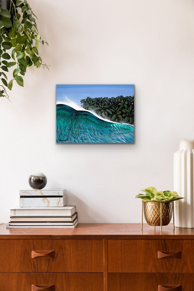 Shannon Oconnell Paintings Mock Ups Evo Art Maui Lahain Front Street Gallery Collect Popular Colorful Ocean Flowers Scenery Waves 71