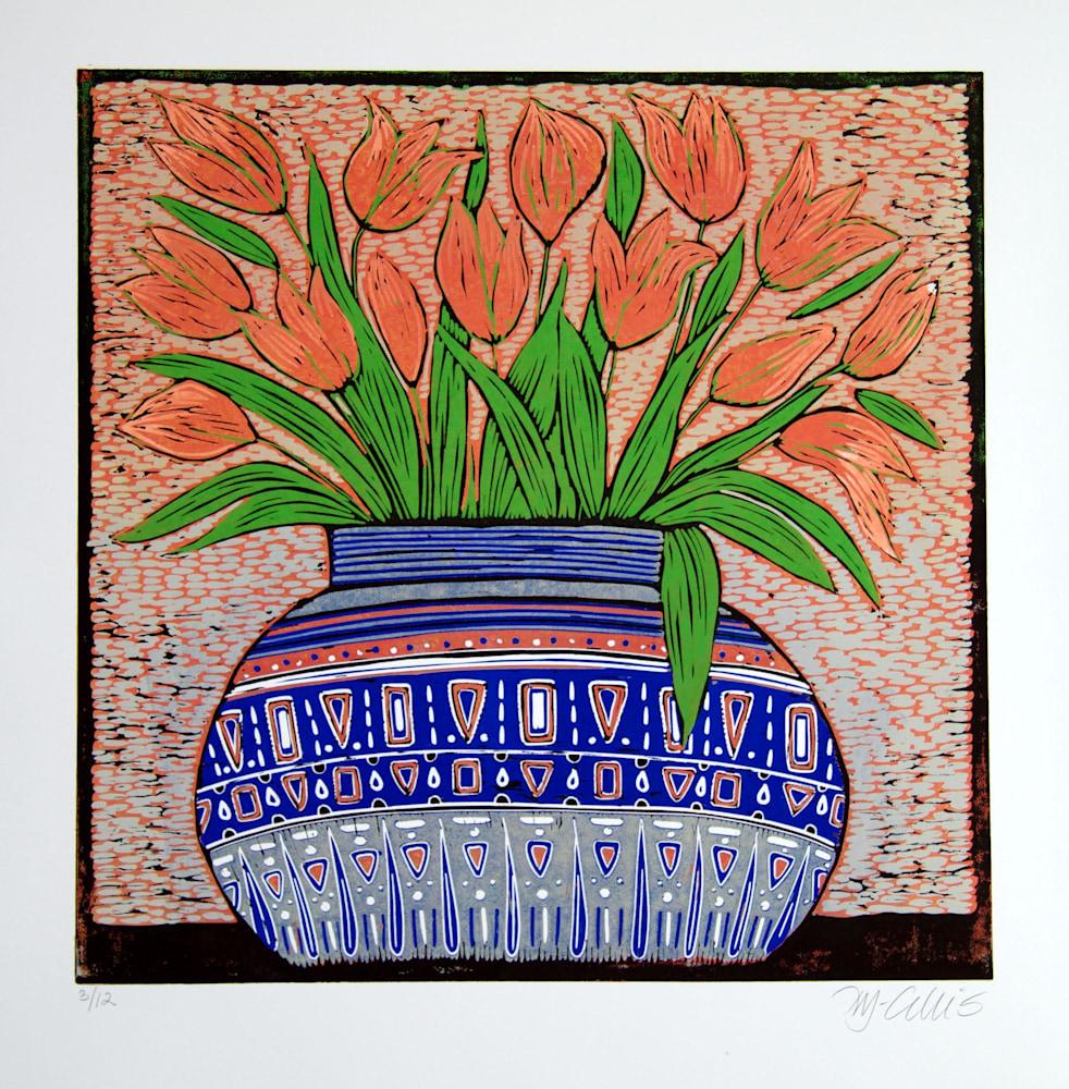orange tulips 3of12