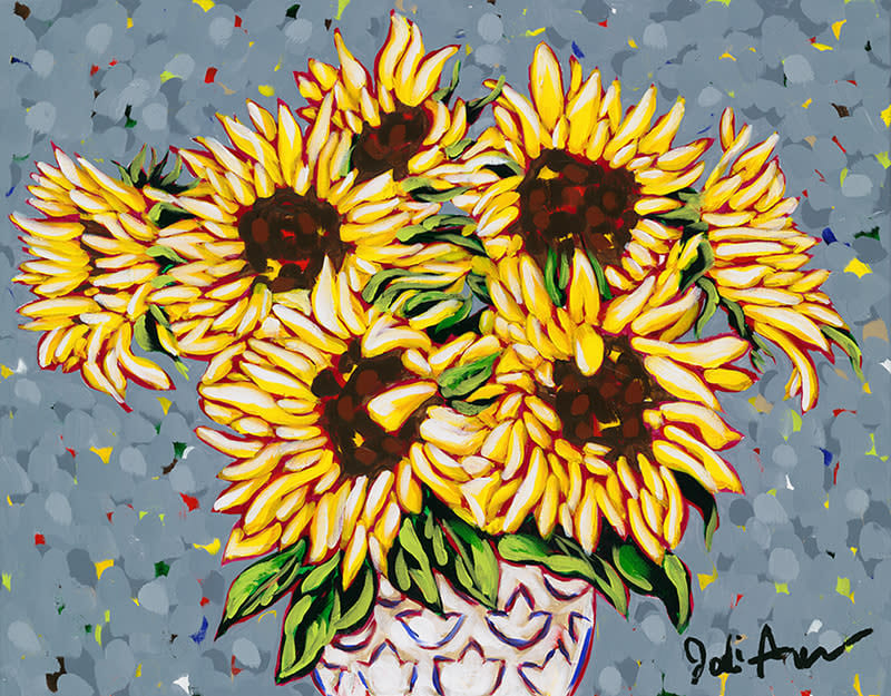 Jodi Augustine Wild Sunflowers ASF