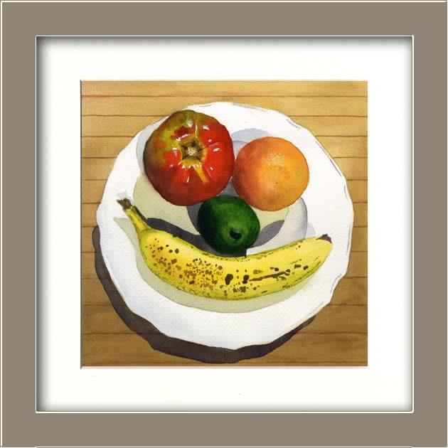 Black Eye Fruit Happy FRAMED