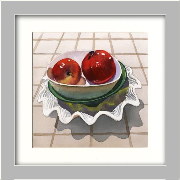 Apple & Pom FRAMED