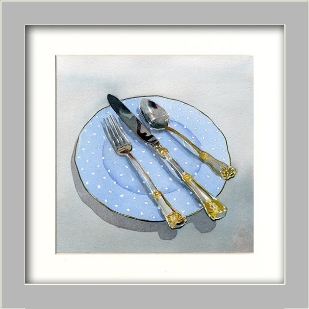 Knife Fork and Spoon MATTED ASF