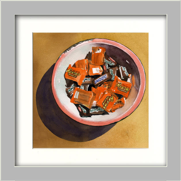 Fall Candy FRAMED