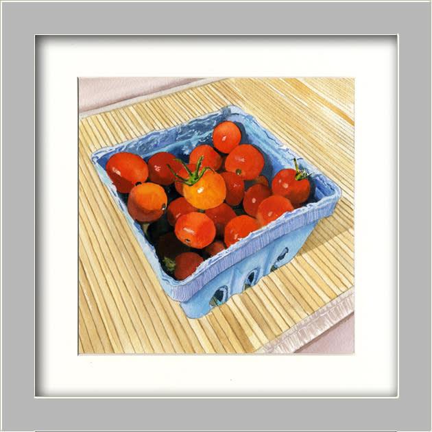 Tiny Sweet Tomatoes FRAMED