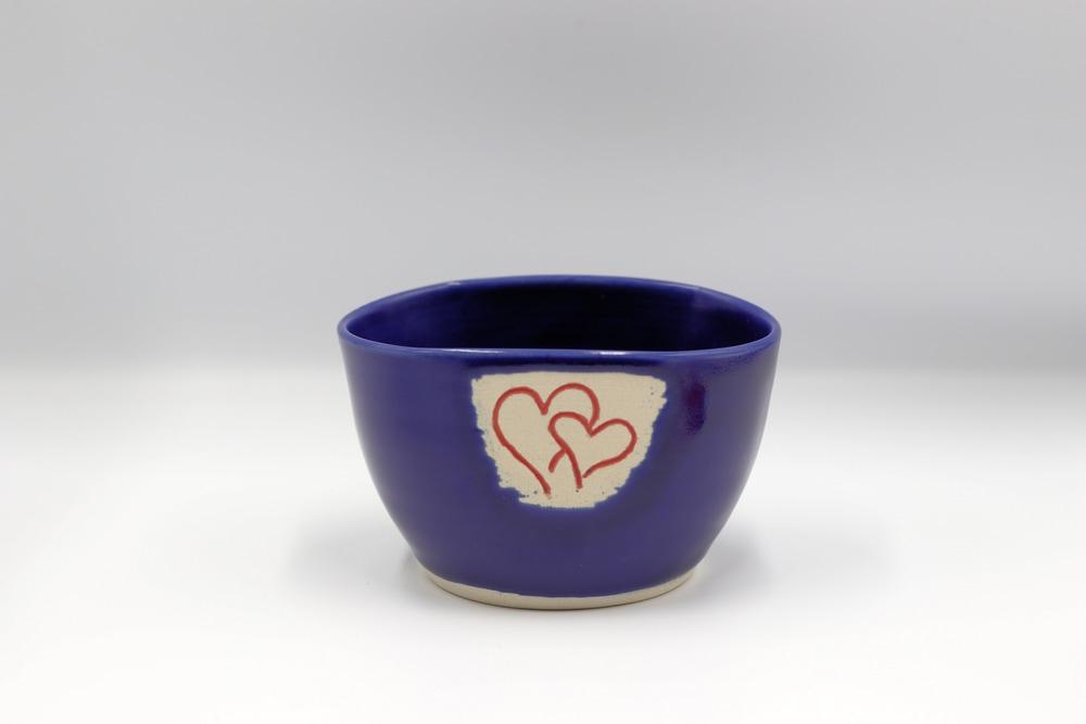 Anne Chaney Blue Bowl $24 Side 2