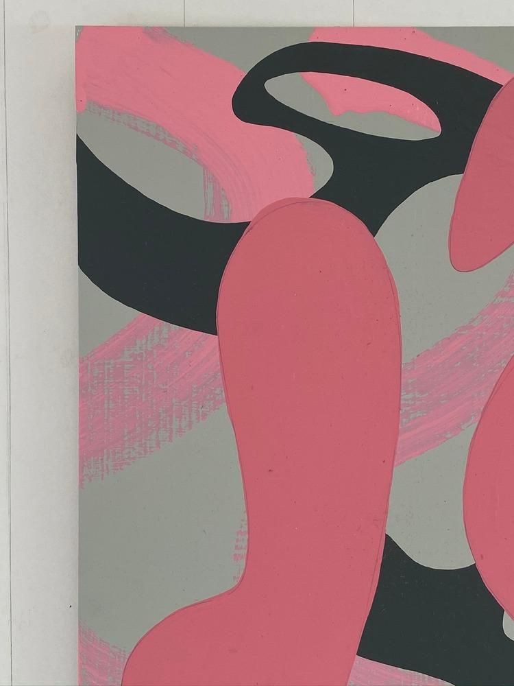 4 4 20 thomas matthew pierson amoeba fractal #2 18x24 acrylic on hardboard 2020 detail 2