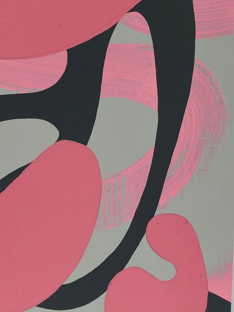 4 4 20 thomas matthew pierson amoeba fractal #2 18x24 acrylic on hardboard 2020 detail 4