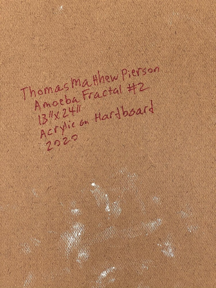 4 4 20 thomas matthew pierson amoeba fractal #2 18x24 acrylic on hardboard 2020 detail 9